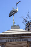 Temperance Stork Bronze Memorial Washington DC Royalty Free Stock Images