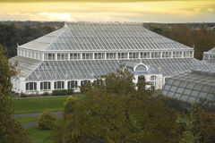 Temperate House at dusk Royalty Free Stock Image
