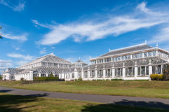 Temperate House in Kew Gardens Stock Image