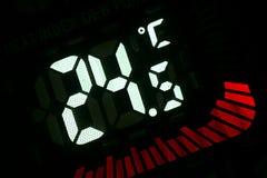 Temperatur Lizenzfreie Stockfotos