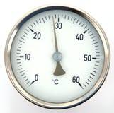 Temperatura Fotografie Stock