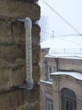 Temperatura dell'inverno Immagini Stock