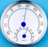 Temperatura i wilgotność metr obrazy stock