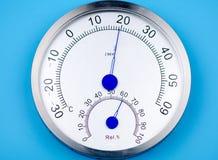 Temperatura i wilgotność metr fotografia royalty free