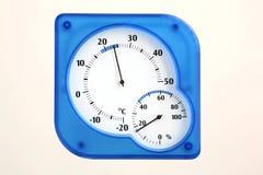 temperatura, wilgotność Zdjęcie Stock