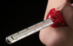 Temperature Royalty Free Stock Photography