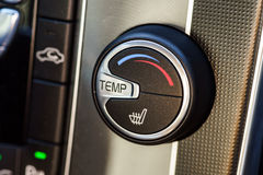 Temperature adjustment handle in towncar Stock Photography