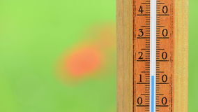 Temperature celsius rise Royalty Free Stock Images