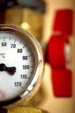 Temperature Gauge Stock Photography
