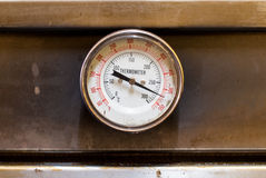 The temperature gauge Royalty Free Stock Photos
