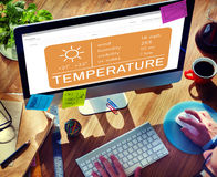 Temperature Heat Hot Weather Climate Concept Stock Photo