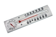 Temperature and humidity indicator Royalty Free Stock Photos