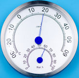Temperature and humidity meter. Stock Images