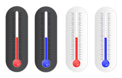 Temperature indicator Stock Photography