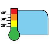Temperature measurement Stock Photo