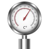 Temperature meter gauge Royalty Free Stock Photography