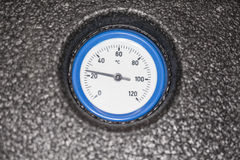 Temperature meter Royalty Free Stock Photo