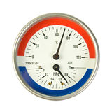 Temperature and pressure meter Stock Photography