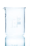 Temperature resistant cylindrical beaker for measurements 150 ml Royalty Free Stock Photography