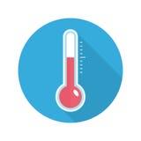 Temperature sensor icon. Stock Photography