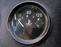 The temperature sensor Stock Image