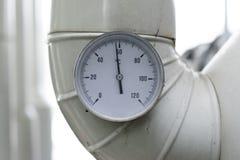 Temperaturowy metr obraz stock