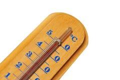 temperaturowy termometr Obrazy Royalty Free
