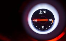 Temperaturowy wymiernik Fotografia Royalty Free