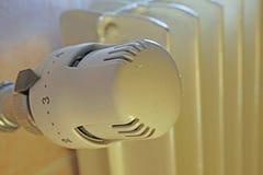 Temperaturregler der Heizung, zum des Gases zu sparen Lizenzfreies Stockbild
