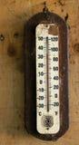 Temperatursteigen Stockfoto