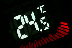Temperatuur Royalty-vrije Stock Foto's