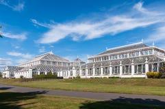 Tempererat hus i Kew trädgårdar Fotografering för Bildbyråer