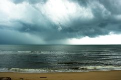 Tempesta Fotografie Stock