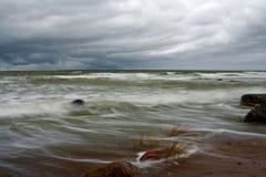 Tempesta. Fotografie Stock
