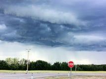 tempesta Fotografie Stock Libere da Diritti
