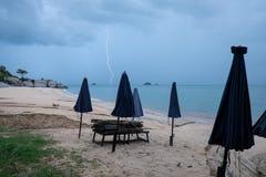 tempesta Fotografia Stock Libera da Diritti
