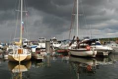 Tempesta attendente Fotografia Stock Libera da Diritti