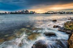 Tempesta che viene a Sydney Fotografia Stock Libera da Diritti