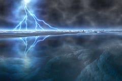 Tempesta congelata Fotografia Stock Libera da Diritti
