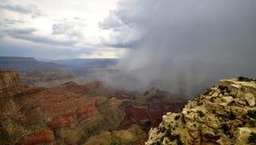 Tempesta del canyon Fotografie Stock Libere da Diritti