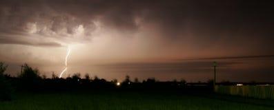 Tempesta del lampo Immagine Stock