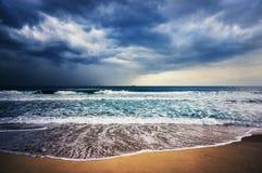 Tempesta del mare Fotografie Stock