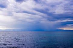 Tempesta del mare immagine stock