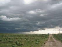 Tempesta del Texas immagine stock libera da diritti