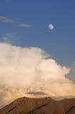Tempesta della luna Immagini Stock Libere da Diritti