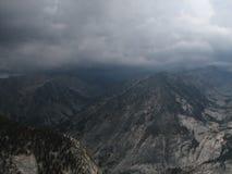 Tempesta della montagna Fotografia Stock Libera da Diritti