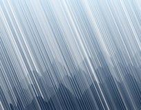 Tempesta della montagna illustrazione vettoriale