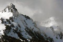 Tempesta della montagna Immagini Stock Libere da Diritti