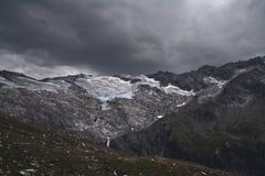 Tempesta della montagna Immagini Stock