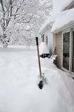 Tempesta della neve Immagine Stock